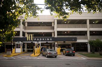 West Main Street Parking Deck Vcu Maps